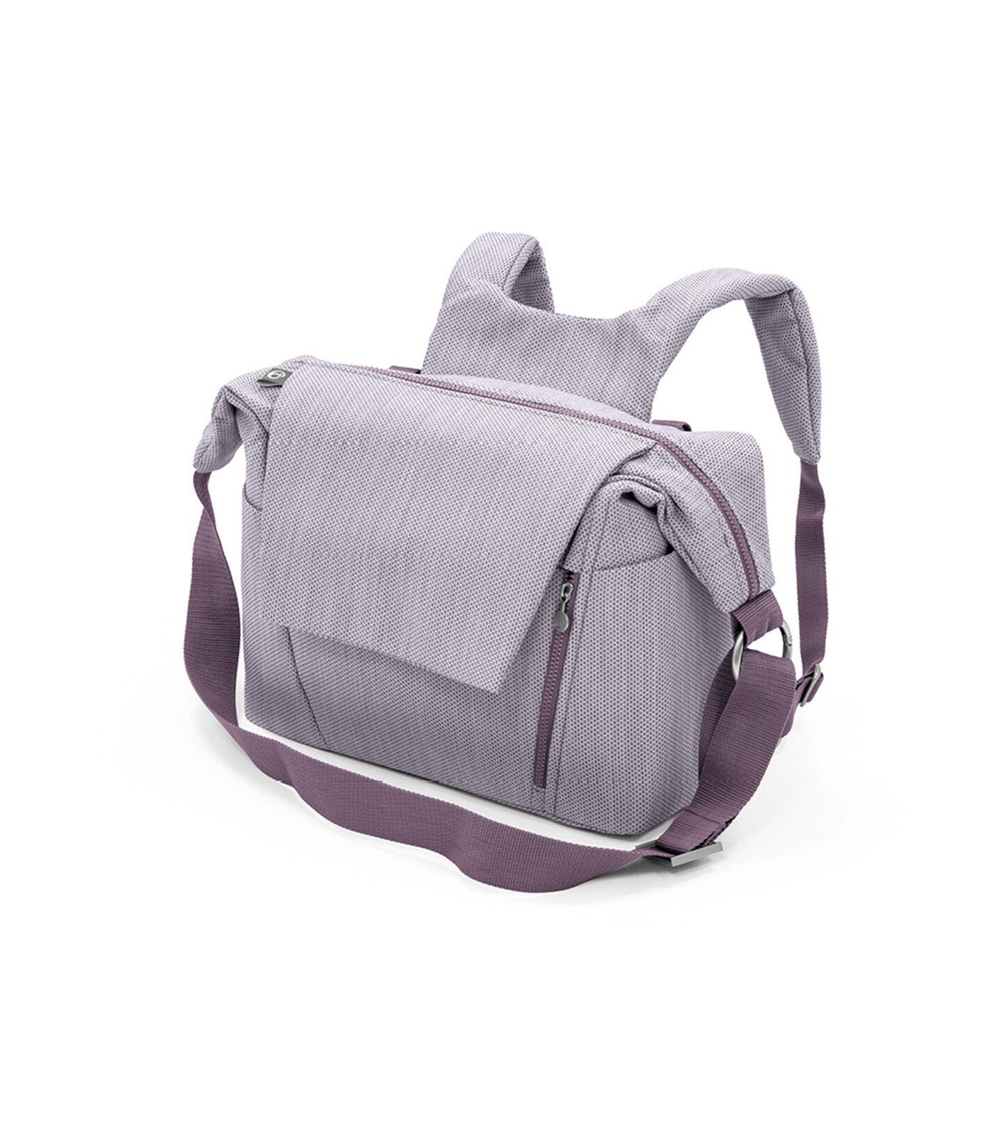 Stokke® Stroller Changing Bag, Brushed Lilac. view 1
