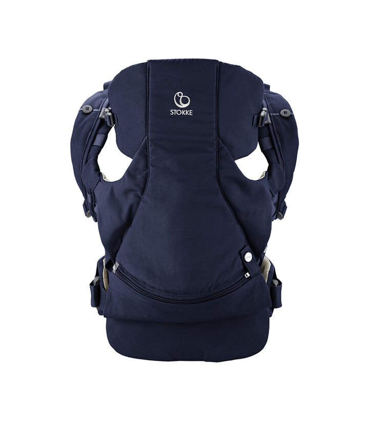 Stokke® MyCarrier™ front- og ryggbærestykke, Deep Blue, mainview view 1