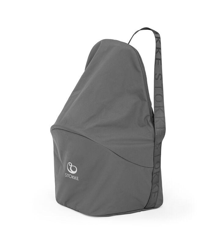 Stokke® Clikk™ Travel Bag, Dark Grey. Closed view 1