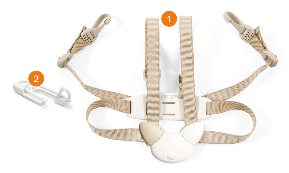Tripp Trapp® Harness 5-point. Items included.