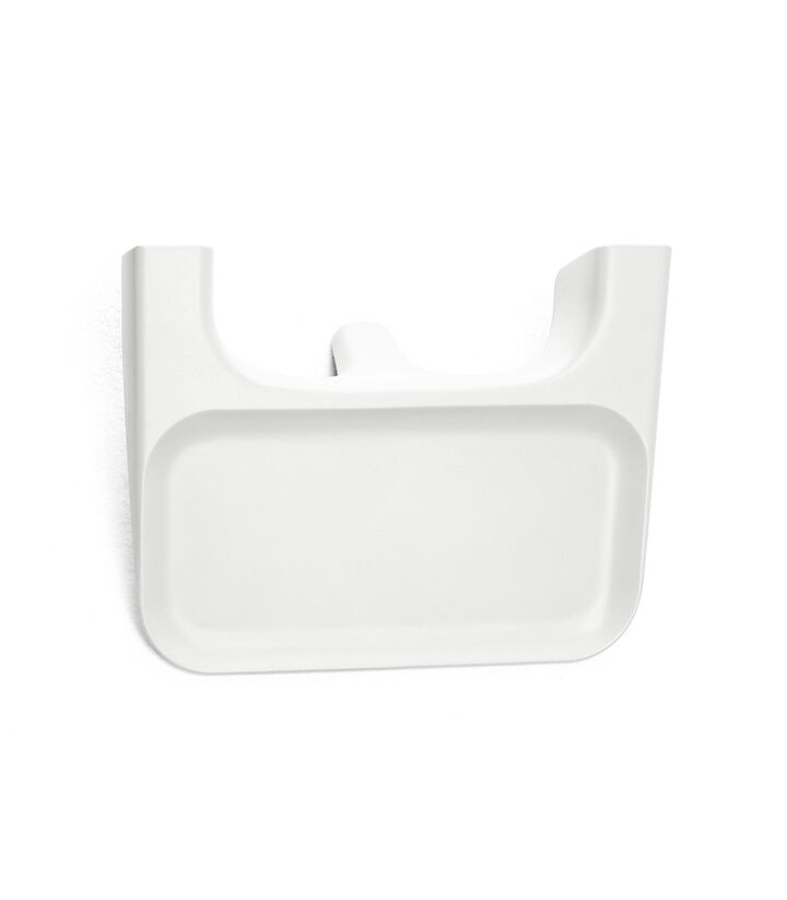 Stokke® Clikk™ Tray in White. Available as Spare part.