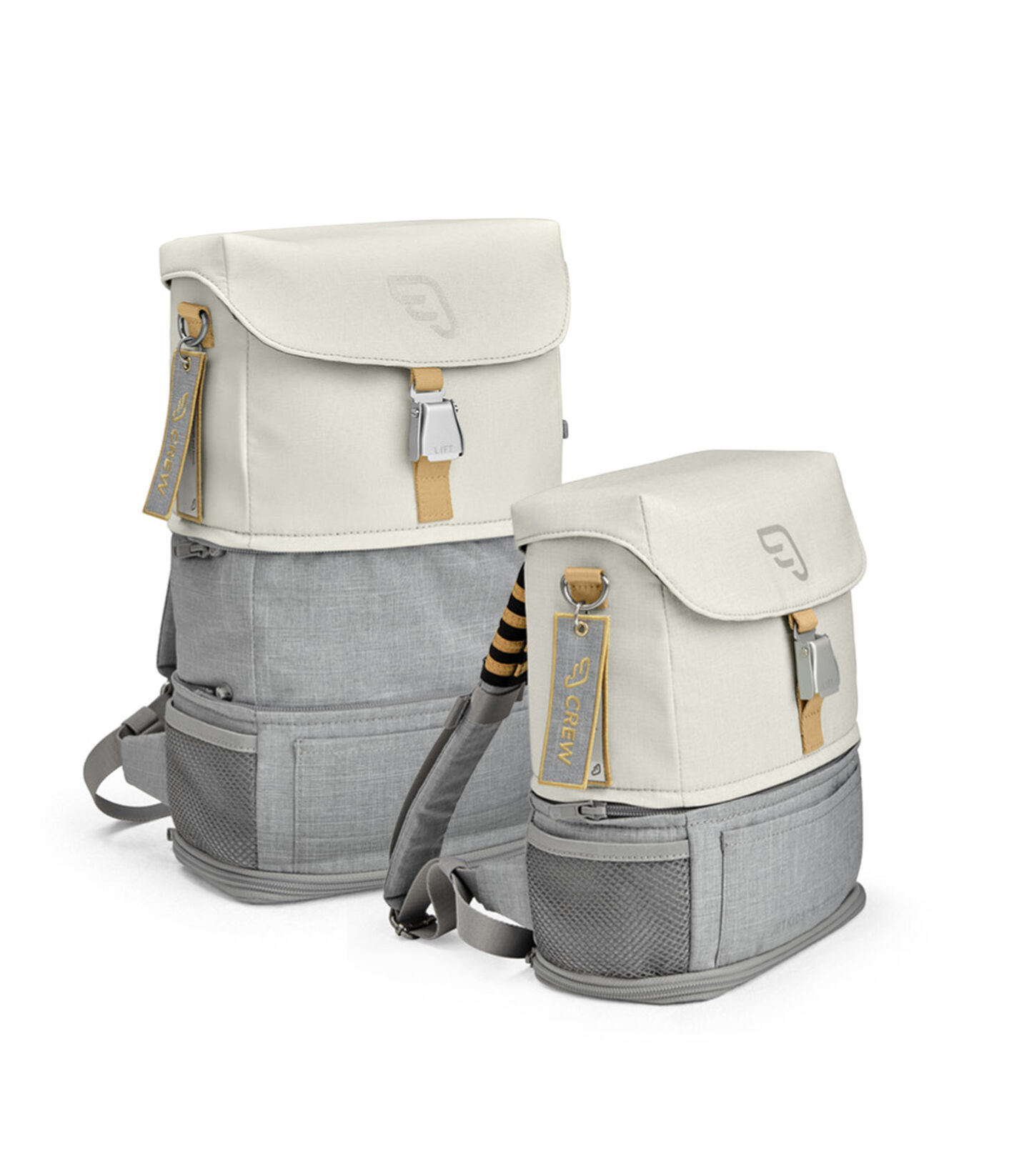 JetKids™ by Stokke® Crew BackPack Full Moon White view 5