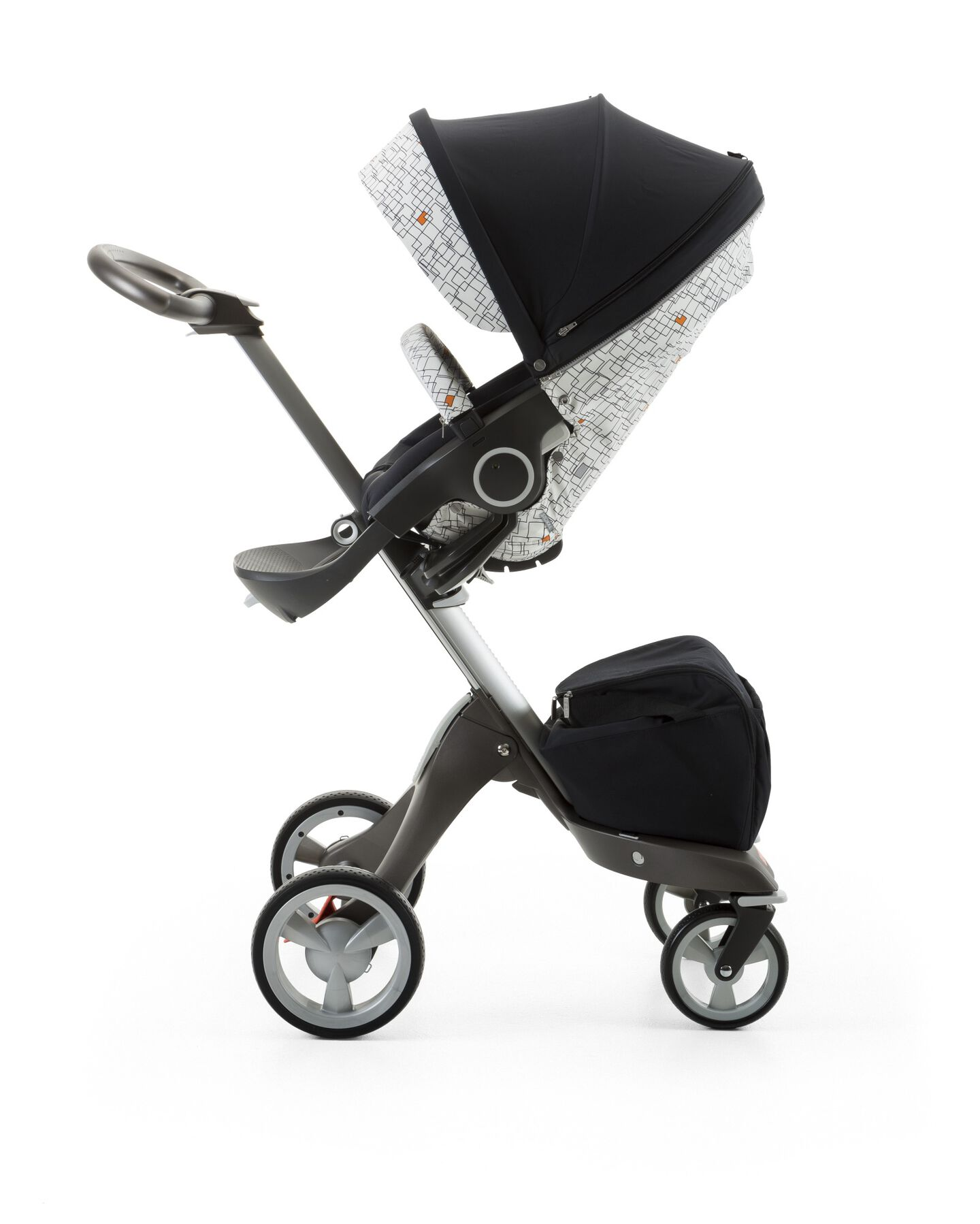 Stokke® Stroller Seat Style Kit Grid with Stokke® Xplory® chassis