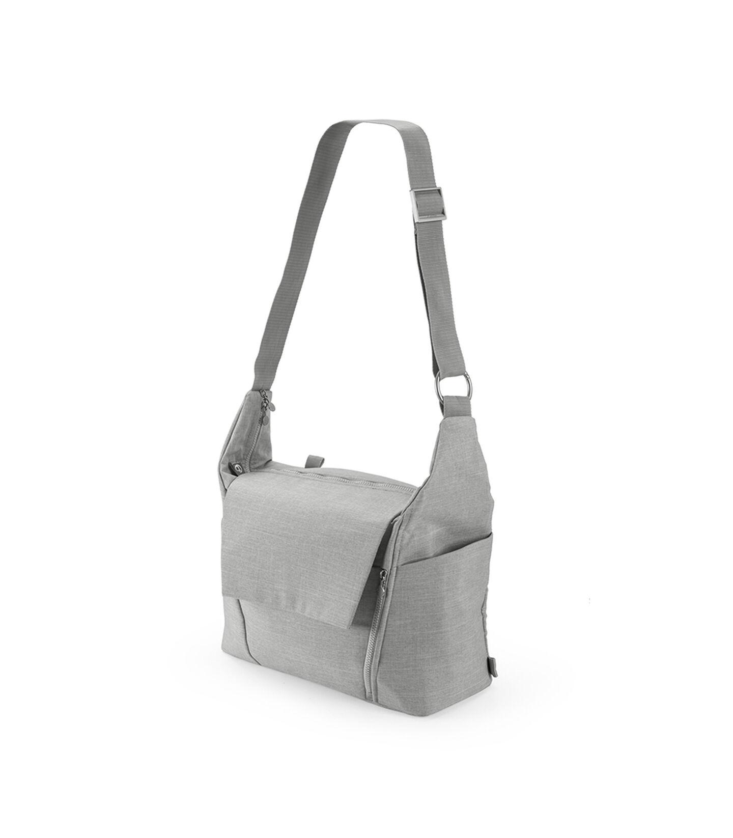 Stokke® Wickeltasche in Grey Melange, Grey Melange, mainview view 4