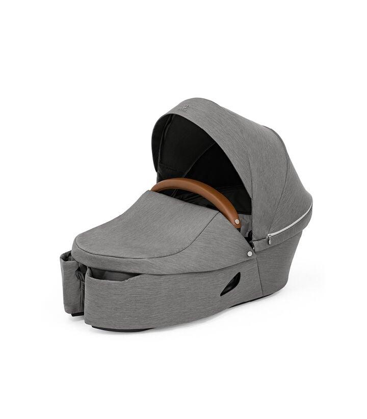 Stokke® Xplory® X Modern Grey Carry Cot. view 1