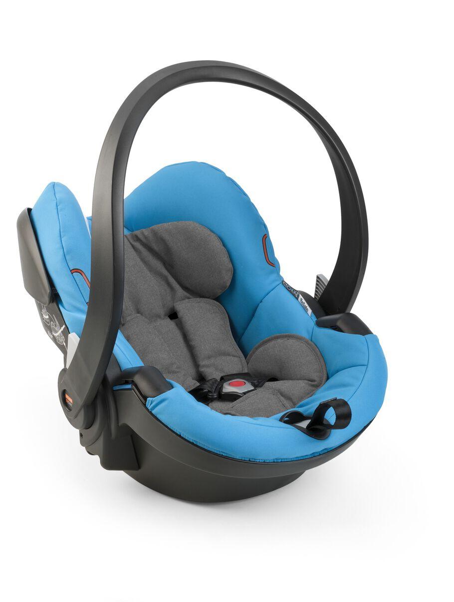 Car Seat, Urban Blue.