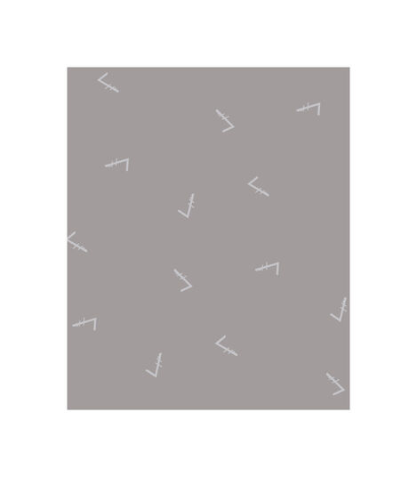 Tripp Trapp® Classic Cushion Icon Grey, Grijs met dessin, mainview view 3