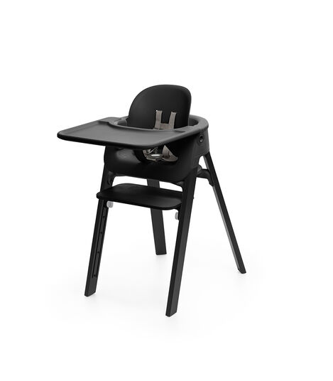 Stokke® Steps™ Baby Set Black, Black, mainview view 4