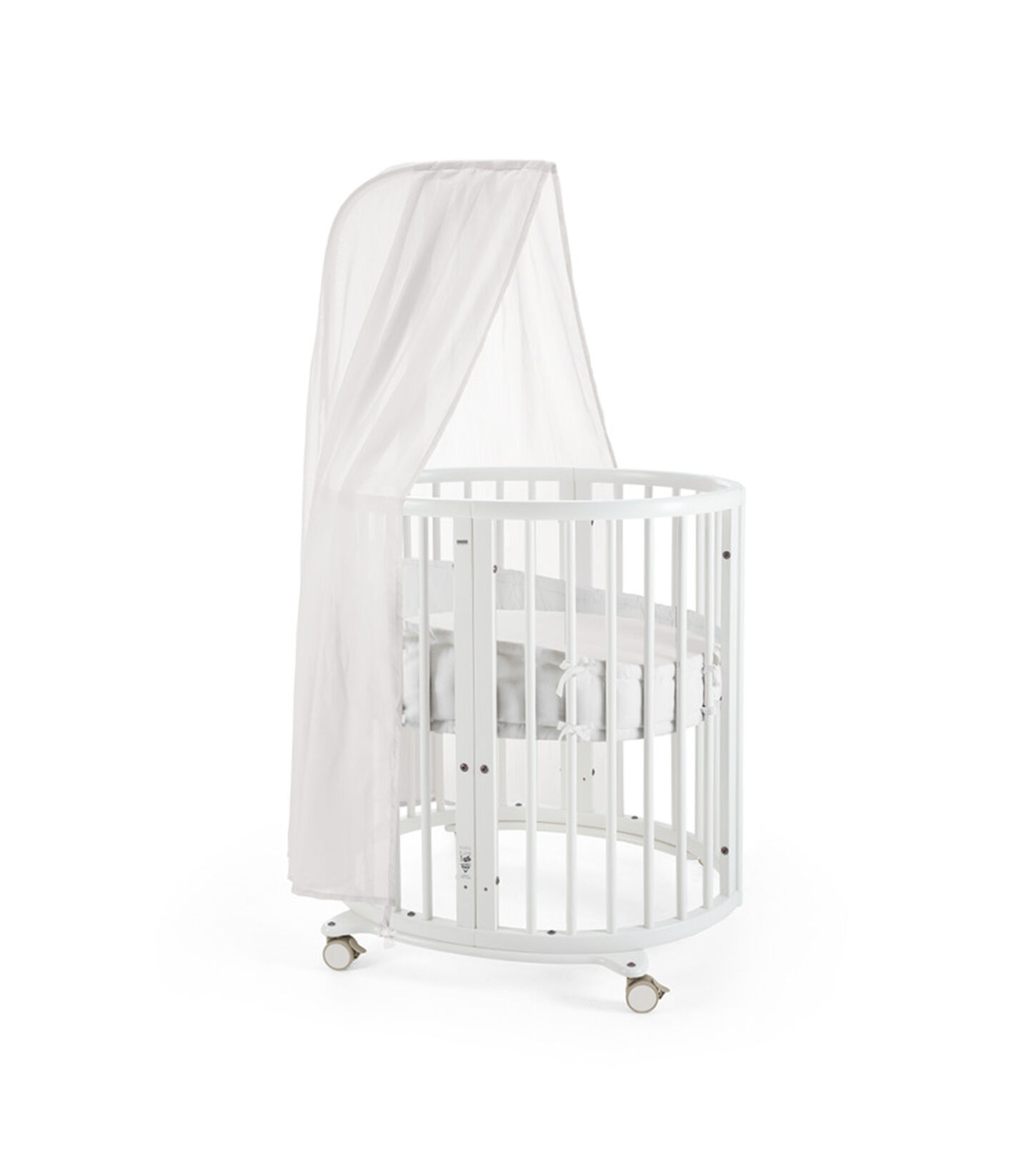 Stokke® Sleepi™. Mint, with Canopy and Bumper. view 2