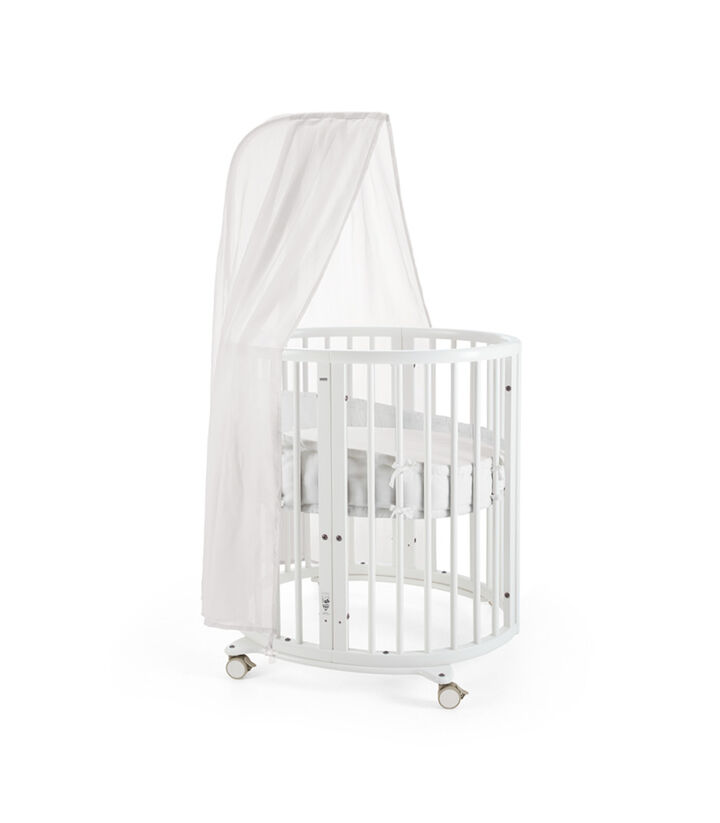 Stokke® Sleepi™. Mint, with Canopy and Bumper. view 1