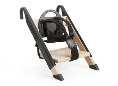 Portable child seat. Black.