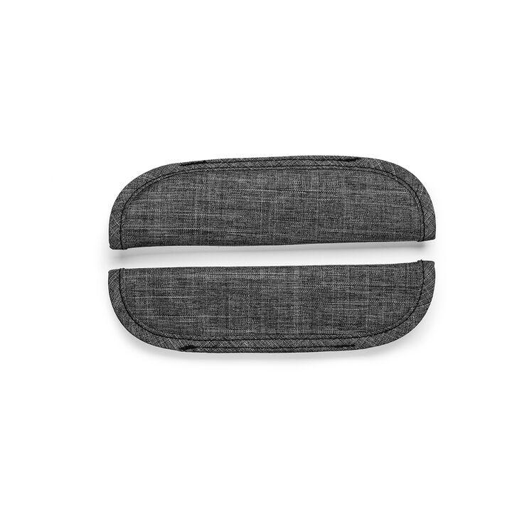 Stokke® Xplory® Schouder-pads voor veiligheidstuigje, Black Melange, mainview view 1