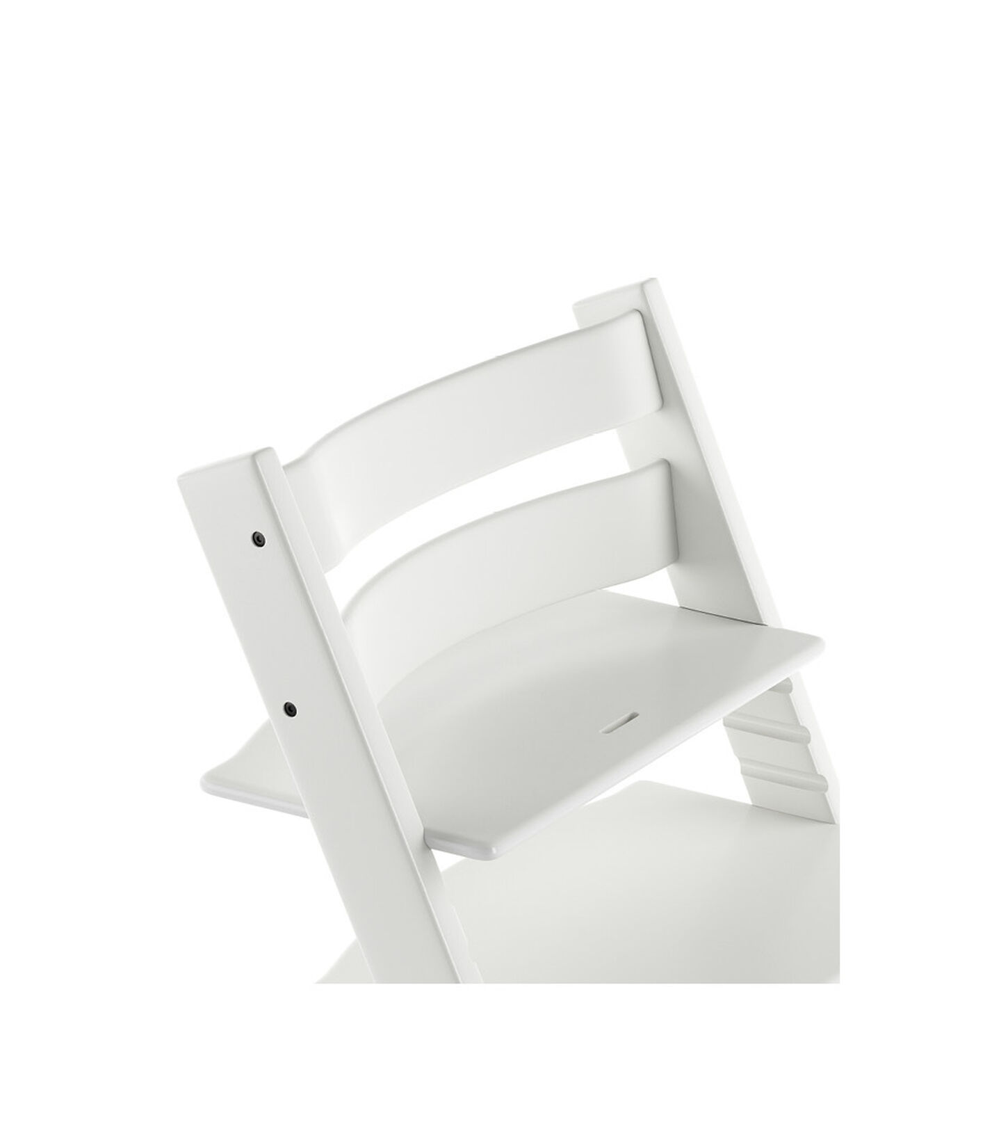 Tripp Trapp® Chair close up 3D rendering White