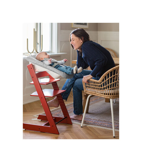 Tripp Trapp® Chair Warm Red, Warm Red, mainview view 3
