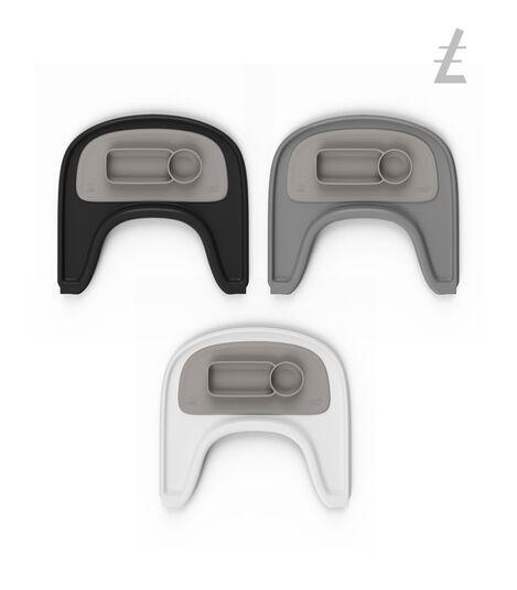 ezpz™ by Stokke®, Soft Grey. Stokke® Tray for Tripp Trapp®. view 5