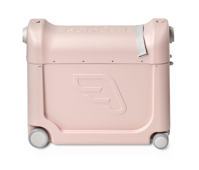 JetKids by Stokke® BedBox Pink Lemonade. Side view.