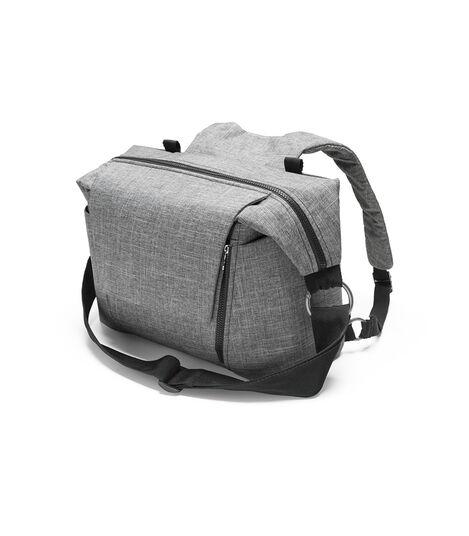Stokke® Stroller Changing Bag, Black Melange. view 3