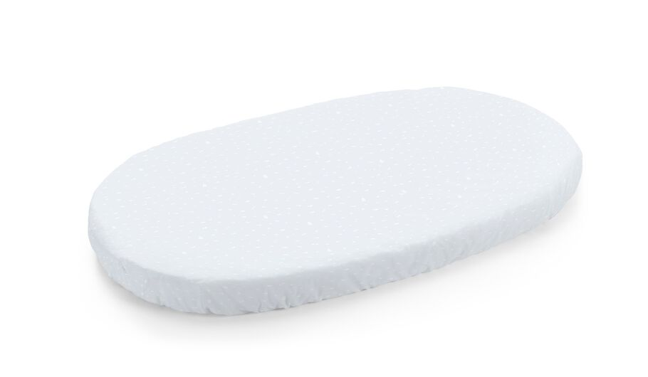 Stokke® Sleepi™ Bed Fitted Sheet. Blue Sea.