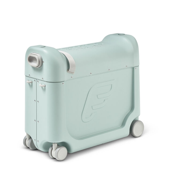 JetKids™ by Stokke® BedBox V3 in Green Aurora. view 1