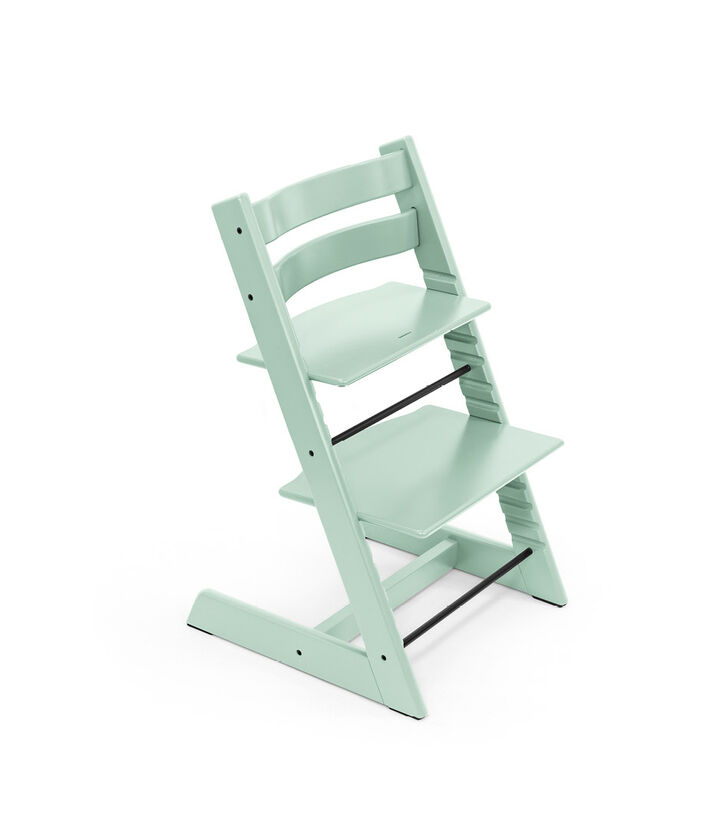 Tripp Trapp® chair Soft Mint, Beech Wood.