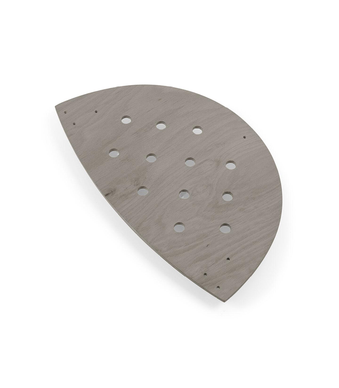 Stokke® Sleepi™ Plywood end Hazy Grey, Gris Brume, mainview view 2