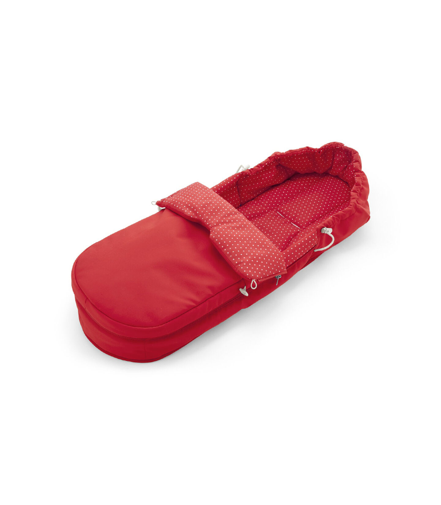 Accessories. Soft Bag, Red.