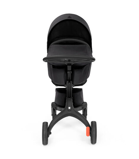 Stokke® Xplory® X Rich Black Stroller with Seat. view 3