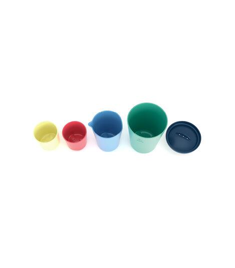 Stokke® Flexibath® Toy Cups Multi Colour, Multicolor, mainview