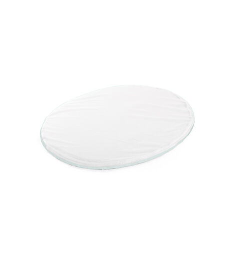 Stokke® Sleepi™ Mini Fitted Sheet Powder Blue, Powder Blue, mainview view 3
