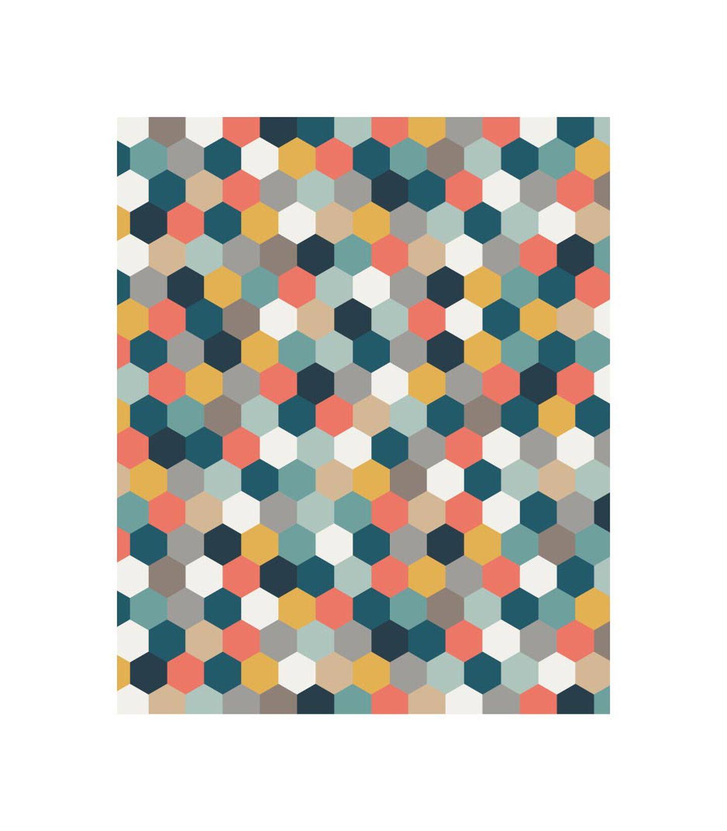 Tripp Trapp® Classic Cushion Honeycomb Happy. Pattern. view 3