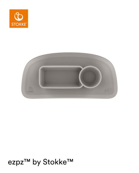 ezpz™ by Stokke™ placemat for Stokke® Tray Soft Grey, Gris Suave, mainview view 8
