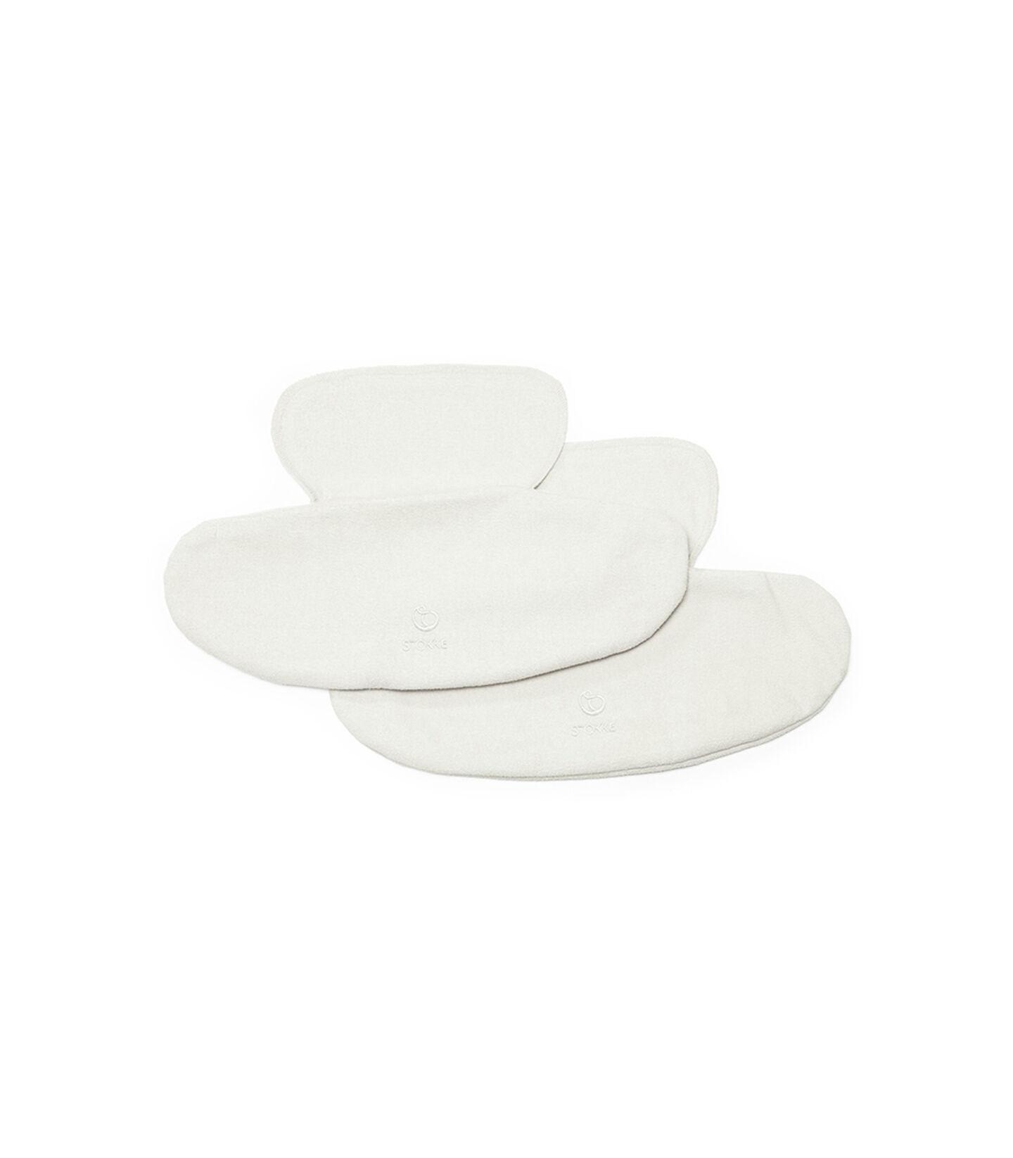 Babero blanco para Stokke® MyCarrier™, Blanco, mainview view 1