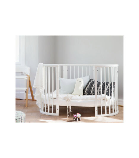 Stokke® Sleepi™ Crib/Bed White, White, mainview view 3