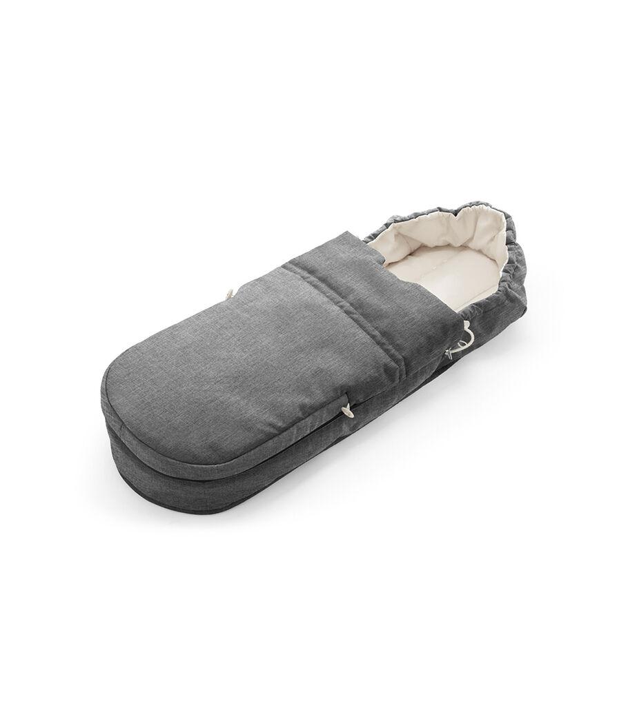 Accessories. Soft Bag, Black Melange.