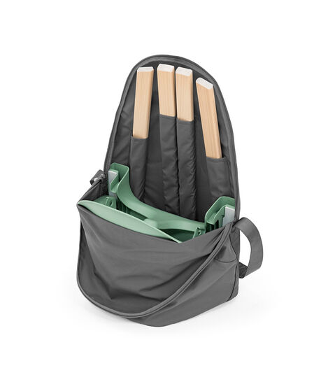 Stokke® Clikk™ Travel Bag Dark Grey, Kolor ciemno szary, mainview view 3
