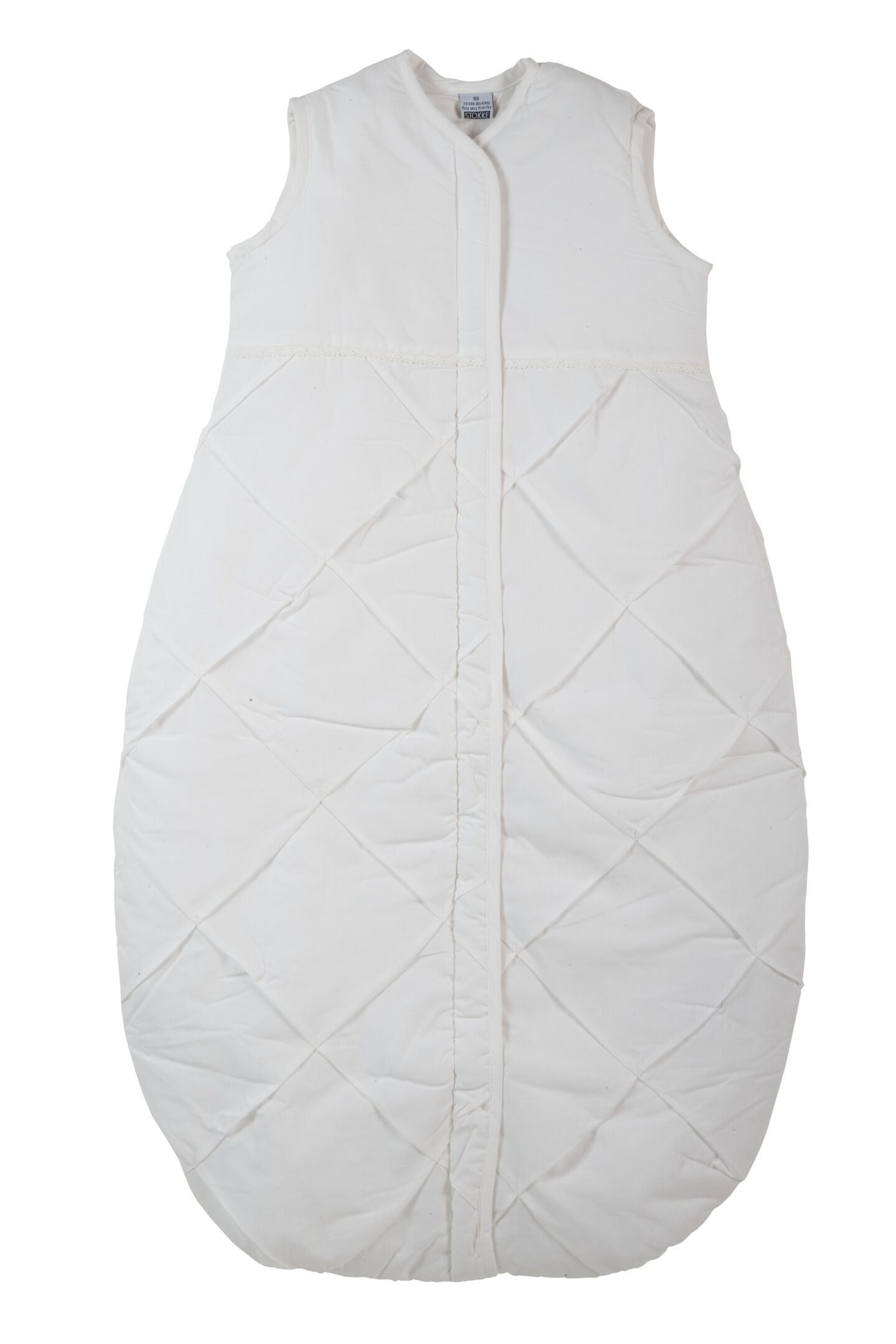Sleeping Bag 90cm, Classic White