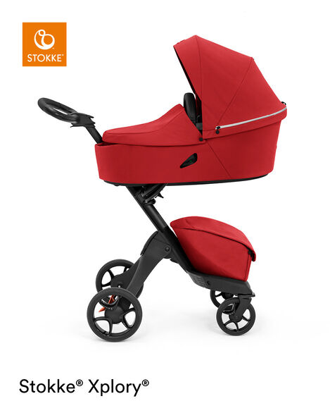 Stokke® Xplory® X Carry Cot Ruby Red, Рубиново-красный, mainview view 8