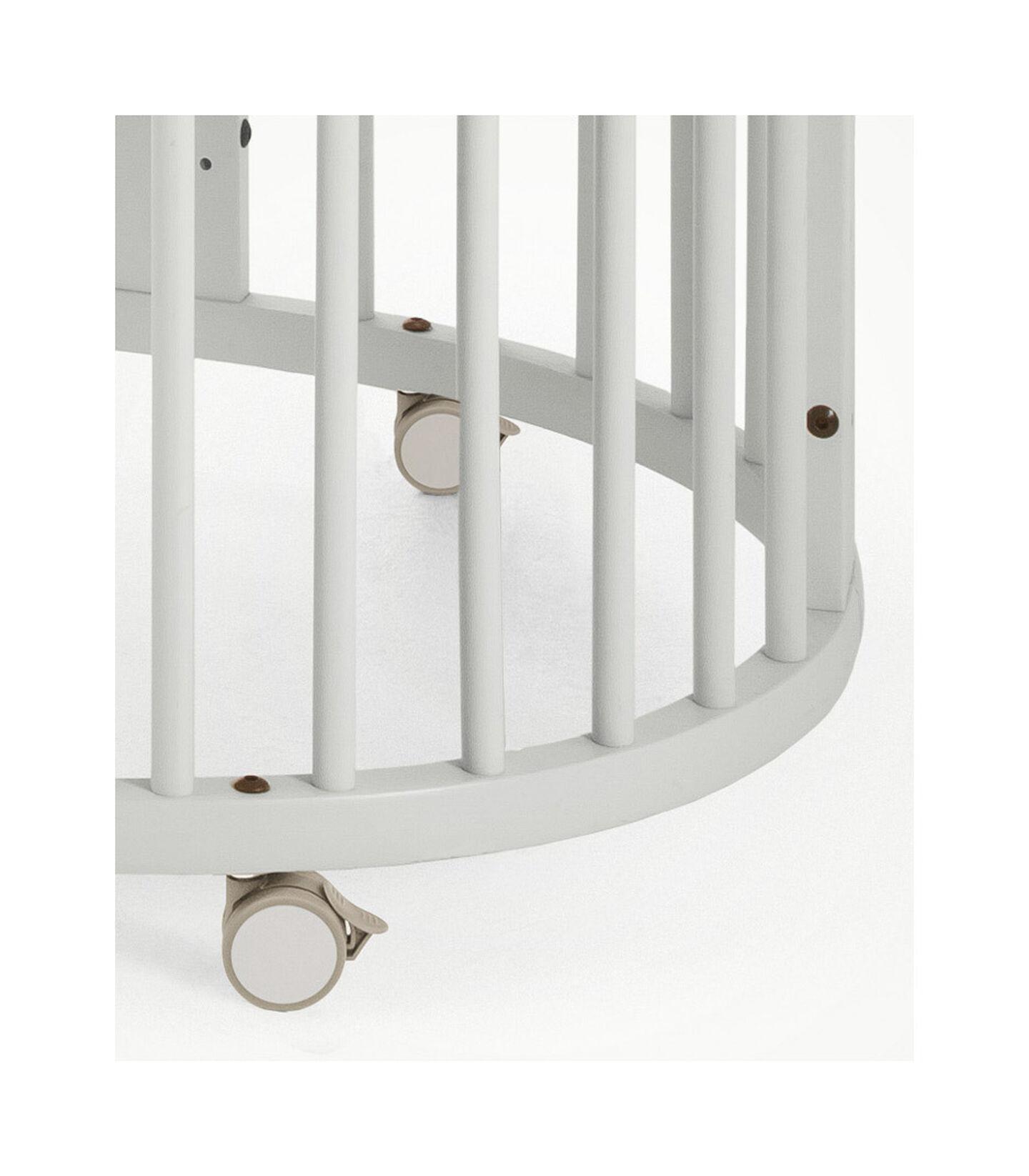 Stokke® Sleepi™ Crib/Bed White, White, mainview view 3
