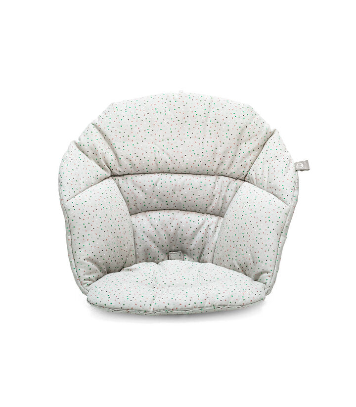 Stokke® Clikk™ Cushion Soft Grey Sprinkles, Grey Sprinkles, mainview view 1