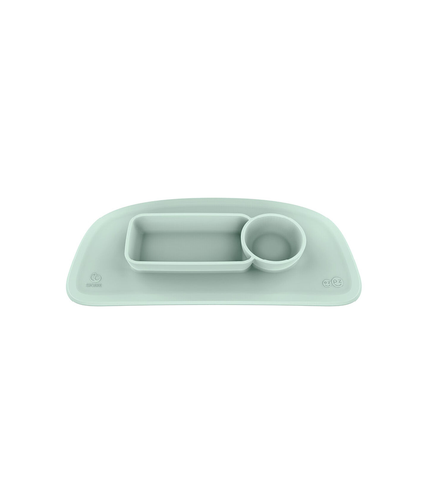 ezpz™ by Stokke™ placemat for Stokke® Tray Soft Mint, Vert menthe, mainview view 2