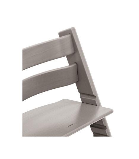 Tripp Trapp® Chair close up photo Oak Greywash view 2