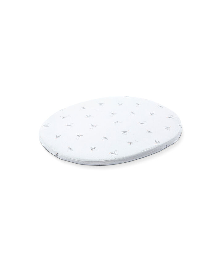 Stokke® Sleepi™ Mini Fitted Sheet by Pehr, Stork, mainview view 1