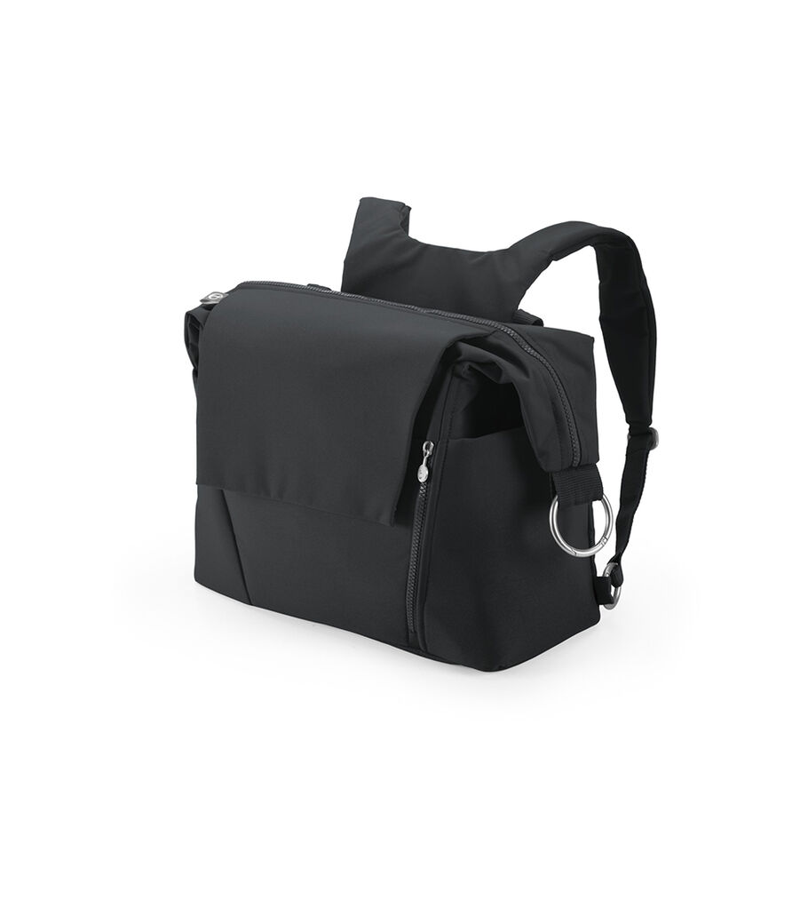 Stokke® Changing Bag, Black, mainview view 29