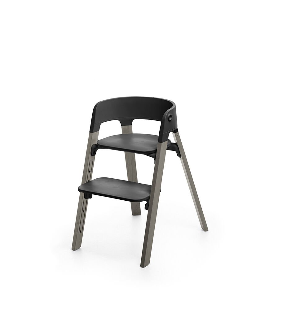 Stokke® Steps™ Chair, Hazy Grey, mainview view 65