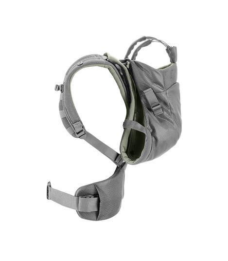 Stokke® MyCarrier™ Back Carrier Green Mesh. Profile. view 4