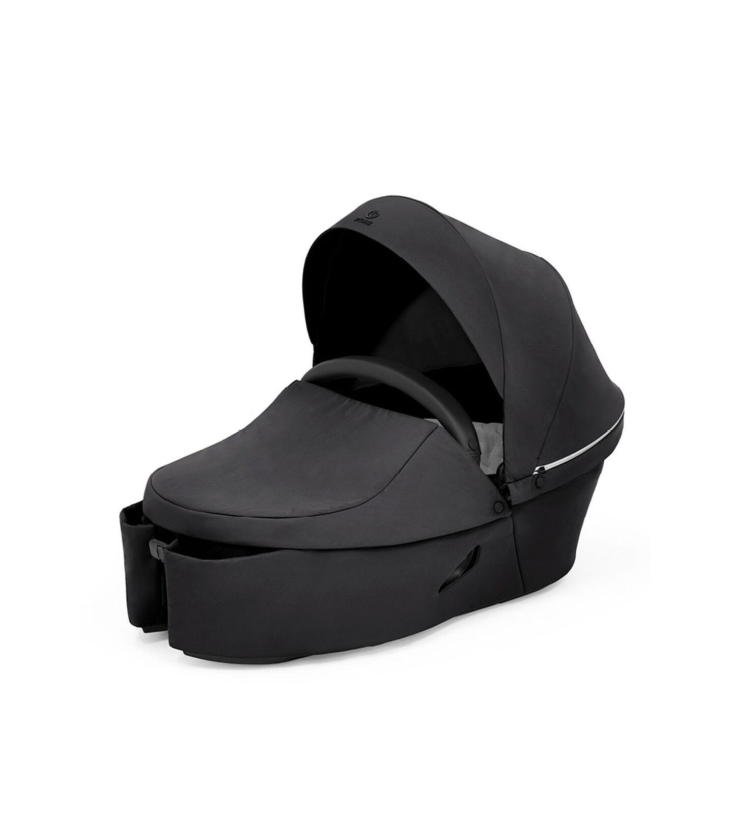 Stokke® Xplory® X Carry Cot Rich Black, Noir Profond, mainview view 2