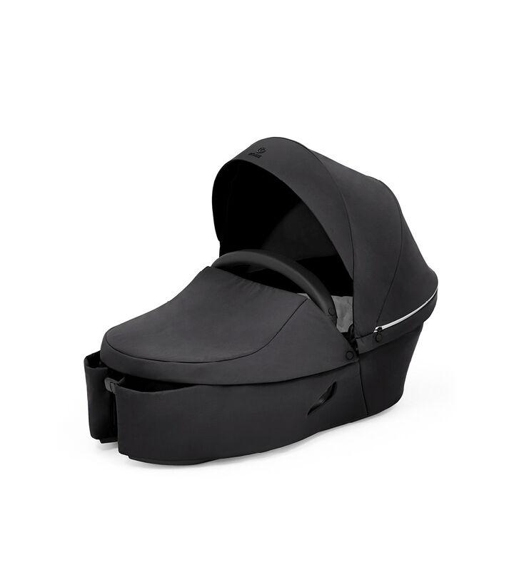 Stokke® Xplory® X Carry Cot Rich Black, Noir Profond, mainview view 1