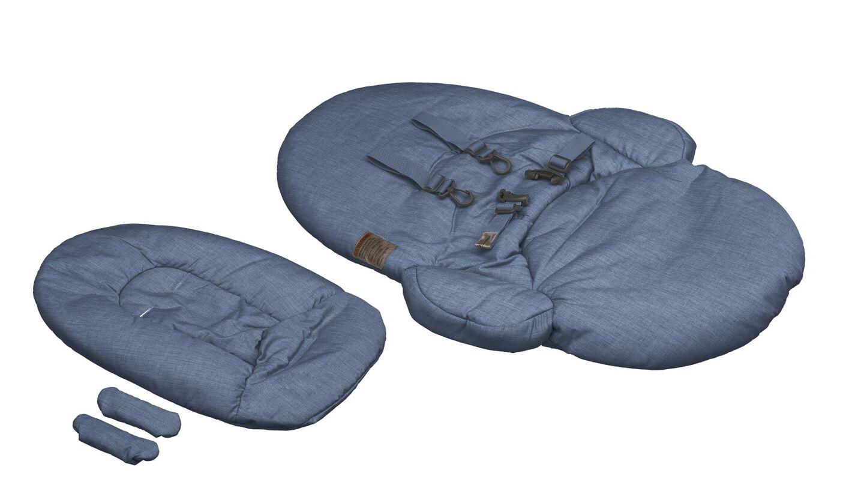 Stokke® Steps™. Textile Set Blue. Sparepart.