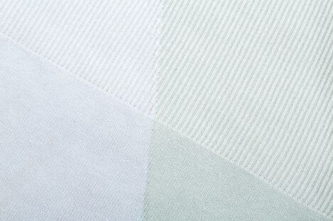 Stokke® Textiles Cotton Knit, Mint. Detail. view 3