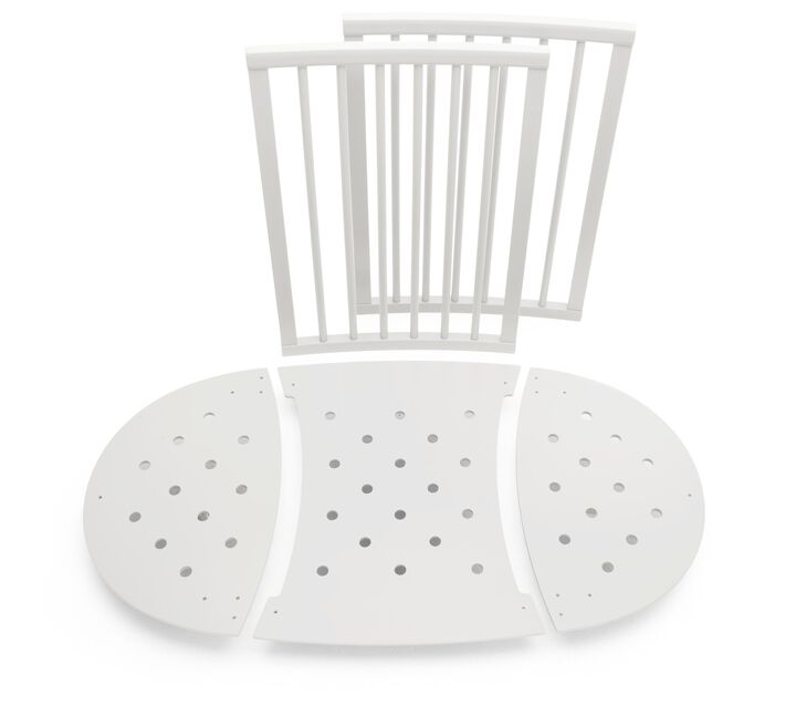 Stokke® Sleepi™ Extension Kit, from Mini to Bed. White.